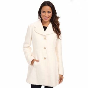 Jessica Simpson Off-white Pea Coat